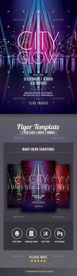 glow flyer city glow flyer by stylewish graphicriver