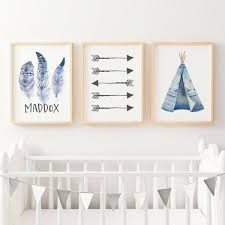 on baby boy wall art nursery with boys boho wall art nursery bedroom prints the kids print store