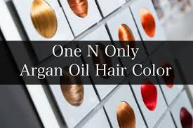 One N Only Hair Color Chart Sbiroregon Org