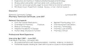 Related Post Pharmacy Technician Resume Objective Samples