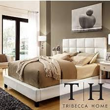Italian bedrooms furniture Luxury Italian Image Unavailable Amazoncom Amazoncom Tribecca Home Sarajevo Queensized White Faux Leather