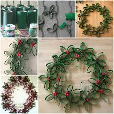 28 Christmas Crafts Made From Toilet Paper Rolls  Spaceships And Christmas Crafts Made With Toilet Paper Rolls