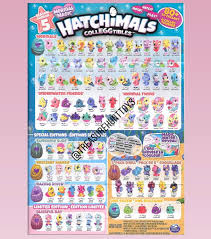 Hatchimals Twins Color Chart We Scanned A Copy Of The New Hatchimals Collectors Guide