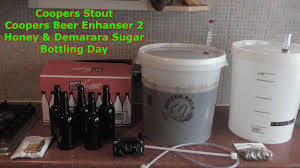 coopers stout bottling day part 12 home brew beer kit uk