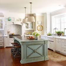 22 Contrasting Kitchen Island Ideas For A Stand Out Space Cottage Kitchen Inspiration French Cottage Kitchen Contrasting Kitchen Island