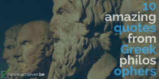 Greek Philosophers Quotes Impressive 48 Amazing Timeless Quotes From Ancient Greek Philosophers [48