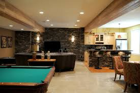Simple Finished Basement Ideas  Ksknus - Simple basement bars