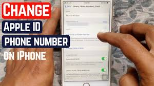 Apple Phone Number How To Change Apple Id Phone Number On Iphone
