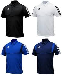 Adidas Mens Shirt Size Chart Details About Adidas Men Tiro 19 Polo S S Shirts Training Black White Tee Gym Jersey Dt5411