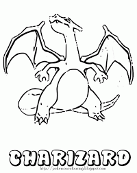 Pokemon Charizard Coloring Pages Coloring Home