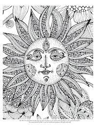 Complicated Coloring Pages Complex Coloring Pages Simple Pages