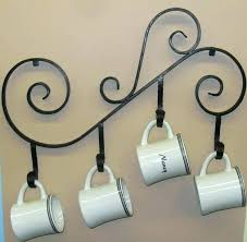 mug holder wall wall mounted coffee cup holders coffee mug holder wall mount s coffee mug rack wall mounted