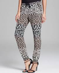 Charlie Jade Size Chart Lyst Charlie Jade Pants Printed Jogger In Black