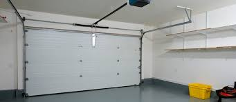 automated sectional garage door