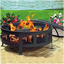 wood burning patio fire pits. Lovely Wood Burning Outdoor Fire Pit Bravo Patio Pits T
