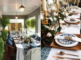 ... Let your porch play host to a great Thanksgiving dinner party [Design:  Troy Spurlin