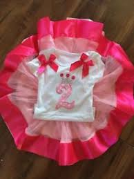 Baby Girls My 1stand 2nd Birthday Cake Smash Princess Outfit