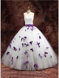 $183.99 Dresswe.com SUPPLIES Hot Sale Strapless <b>Butterfly Ball</b> ...