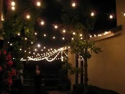 image of modern style string of patio lights with outdoor led string lights with patio