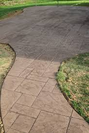 stamped concrete for patios