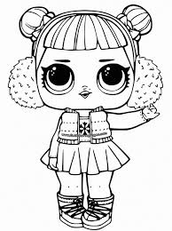 Coloring Lol Doll Coloring Pages For Kids Printable Best Cool Of