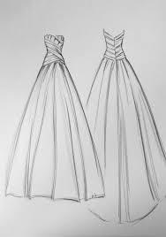 Sketching Clothing Sketching Wedding Dresses Anna Schimmel