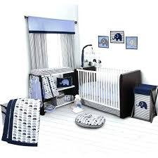 baby bedding wondrous star crib rock elephants blue gray small levtex willow white