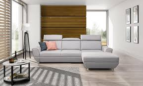 Ivory Living Room Furniture Lovely Modern Sofa Bed Fabric Upholstery Chrome Metal Legs Ivory