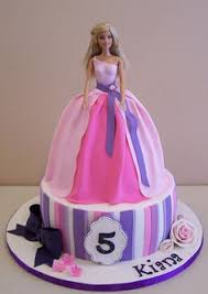 64 Amazing Barbie Cake Designs Images Cookies Bakken Birthday Cakes