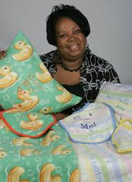 Brenda Yancey of Bay Minette's blanket and children's wares ...