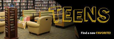 Public library teen sites header