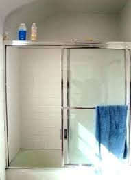 barn door shower doors shower door or curtain hide ugly shower doors glass tub door or