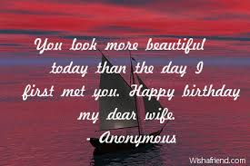 Beautiful Quotes For Her Birthday Best of Birthday Quotes For Wife
