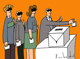 Image result for cartoon images of voting