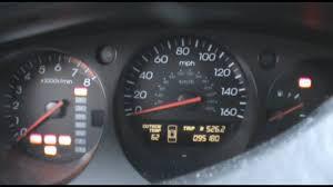 Acura Tl Dash Lights 2003 Acura Tl Dash View Cold Start Youtube