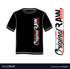 T0shirt Design Typography Denim For T Shirt Printing Design