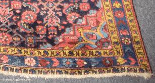 older rugs tend to have short fringe because it s worn off