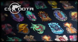 steam workshop cs dota part 1 the stickers collection