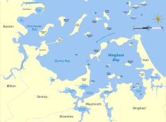 Tide Chart Back River Weymouth Ma Hingham Bay Wikipedia