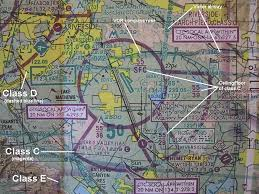 Class G Airspace Sectional Chart Bob Comperini Airspace Classifications