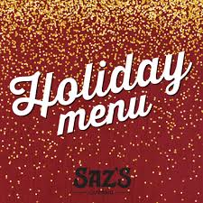 Holiday Menu Elevate Your Holiday Party Planning With Sazs Seasonal Holiday Menu