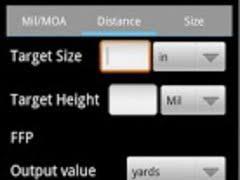 Mil Dot Chart Pdf Mildot Calculator 1 2 Free Download
