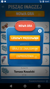 Pisząc inaczej - mobilna gra słowna - GoodWrite.it