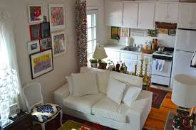 Image Efficiency Apartment Feeling That Comes From Sitting On Sofa Thats Right Next To The Head Of Your Bed It Also Leaves Space For Small Work Area At The Foot Of The Bed Apartment Therapy Ways To Lay Out Studio Apartment Apartment Therapy