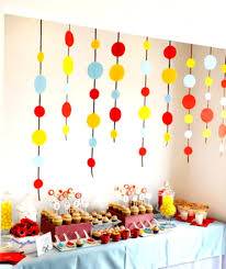 superb room decoration for boy birthday party 6 amid modest