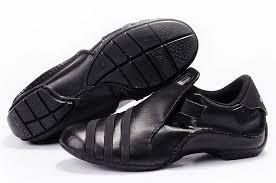belfast mens adidas leather shoes black larger image