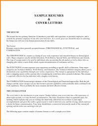 Resume Chronological Order Resume Template