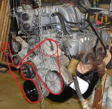 95 351w air pump bypass question ford truck enthusiasts forums i didn t realize how difficult it would be to get a clear pic the huge factory fan shroud in the way hopefully this helps