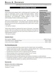 Great Teacher Resumes - Best Resume Collection
