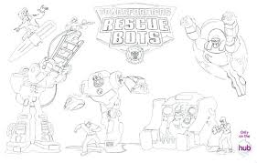 Rescue Bot Coloring Pages Unusual Design Ideas Printable Rescue Bots